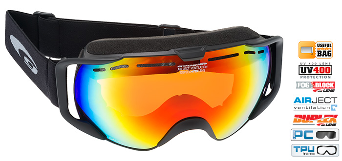 Ochelari de schi Goggle H632 Galaxo