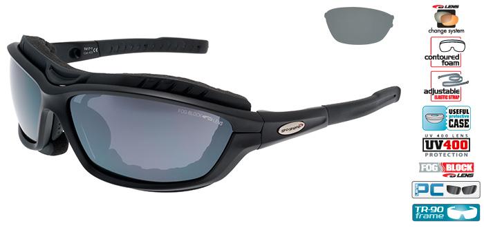 Ochelarii de soare Goggle T417 Syries, cu lentile de schimb