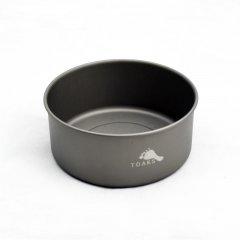 Vas 380ml D106mm Bowl Toaks Titanium