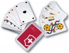 Carti de joc Victorinox Poker