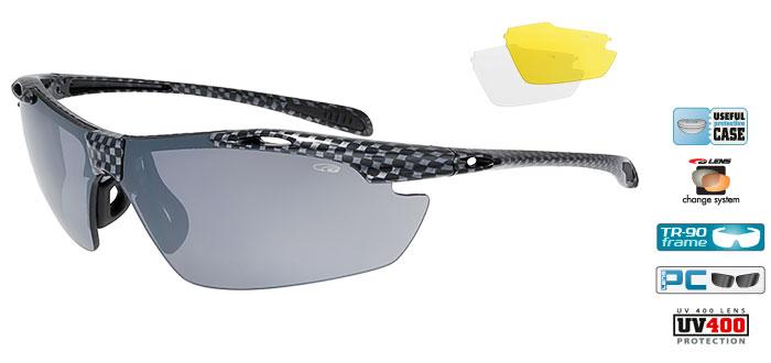 Ochelari de soare Goggle E721 Raven Race